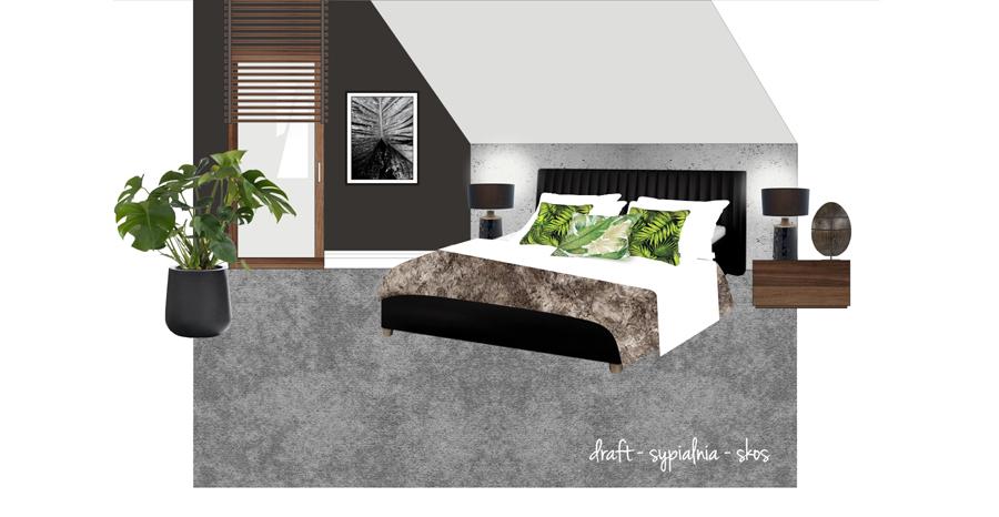 projekt-sypialni-na-poddaszu-slupsk